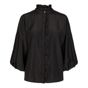 keefa frill shirt co'couture